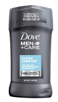 Dove® Men+Care Clean Comfort Antiperspirant Deodorant Stick