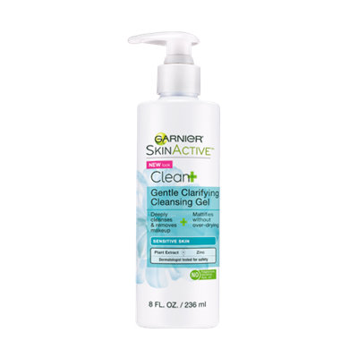 Garnier SkinActive Clean+ Gentle Clarifying Cleansing Gel