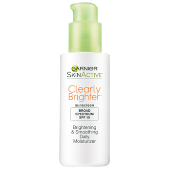 Garnier Skin Active Clearly Brighter SPF 15 Brightening & Smoothing Daily Moisturizer