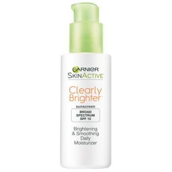 Garnier Skin Active Clearly Brighter SPF 15 Brightening & Smoothing Daily Moisturizer