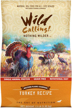 Best Friend Products Corp Wild Calling Western Plains Turkey Dog Food 13lb