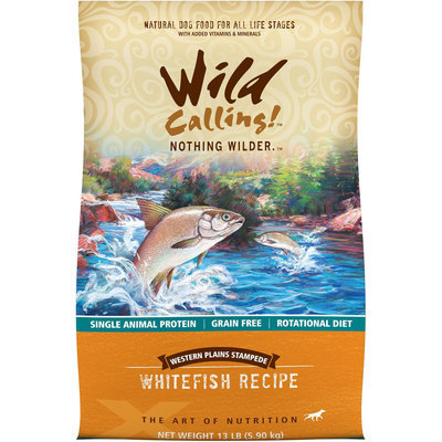 Best Friend Products Corp Wild Calling Western Plains Fish Dog Food 13lb