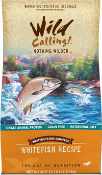 Best Friend Products Corp Wild Calling Western Plains Fish Dog Food 25lb