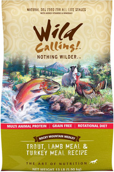 Best Friend Products Corp Wild Calling Rocky Mountain Fish Dry Dog Food 13lb
