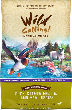 Best Friend Products Corp Wild Calling Rocky Mountain Duck Dry Dog Food 13lb