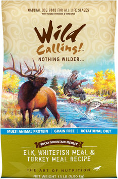 Best Friend Products Corp Wild Calling Rocky Mountain Elk Dry Dog Food 13lb