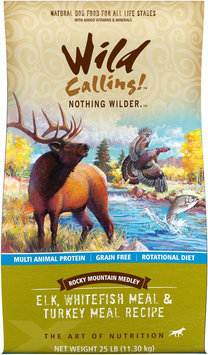 Best Friend Products Corp Wild Calling Rocky Mountain Elk Dry Dog Food 25lb