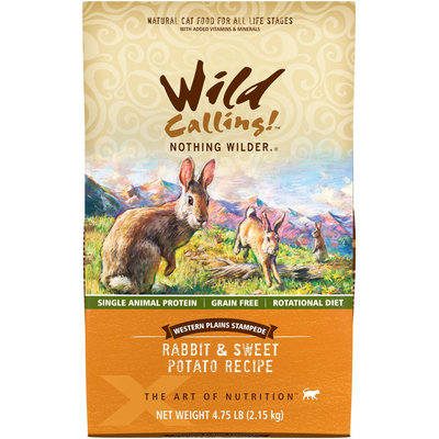 Wild Calling Plains Stampede Grain Free Rabbit and Sweet Potato