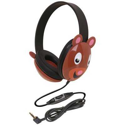 Califone Listening First Headphone - Bear - 1 ct.