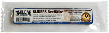 Clear Conscience Pet Sliders Stikz - Beef