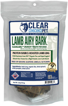Clear Conscience Pet Airy Bark - Lamb