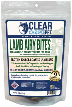Clear Conscience Pet Airy Bites - Lamb