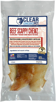 Clear Conscience Pet Scrappy Chewz - Beef