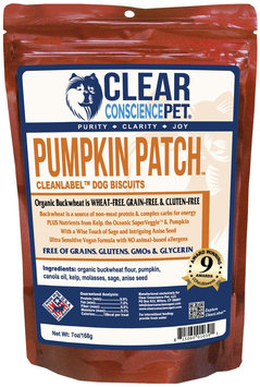Clear Conscience Pet Clean Label Dog Treats - Pumpkin Patch