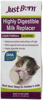 Farnam Just Born Milk Replacer Liquid Kitten Formula, 8 fl. oz.