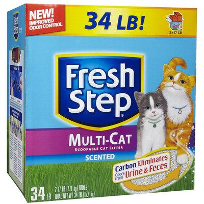 Fresh Step Multi-Cat Scented Litter