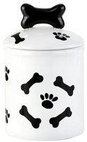 Creature Comforts Treat Jar - Black & White