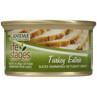 Canidae Life Stages Turkey Slices Entree - 12x3oz