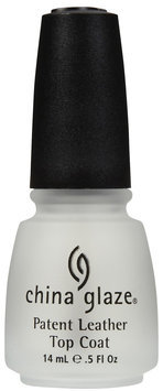 China Glaze Nail Polish, Patent Leather Top Coat