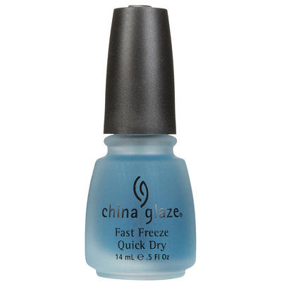 China Glaze Nail Polish, Fast Freeze Quick Dry
