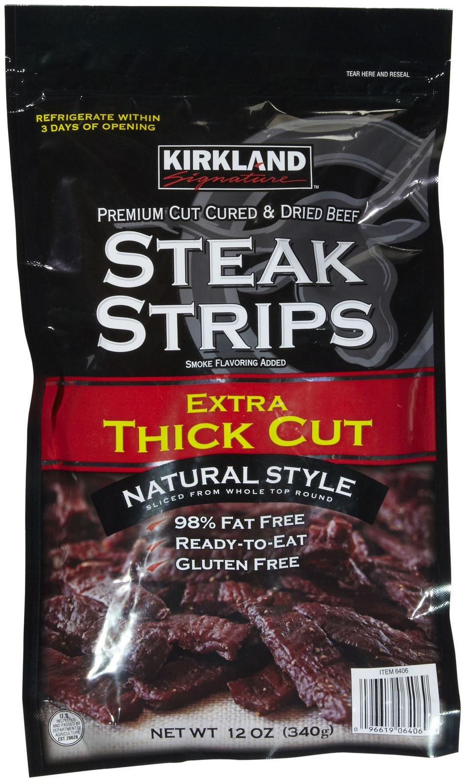 Kirkland Signature Kirkland Steak Strips, 12 oz