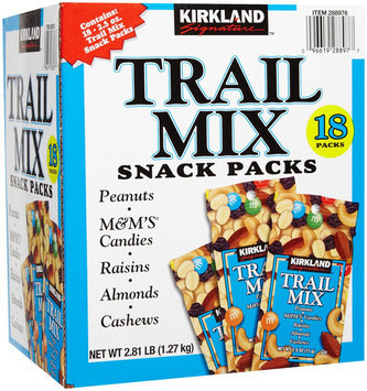 Kirkland Signature Kirkland Trail Mix Snack Packs, 18 ct