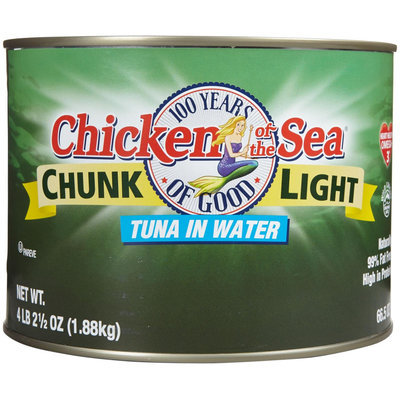 Chicken of the Sea Chunk Light Tuna in Water (Food Service size), 1.88 kg Can