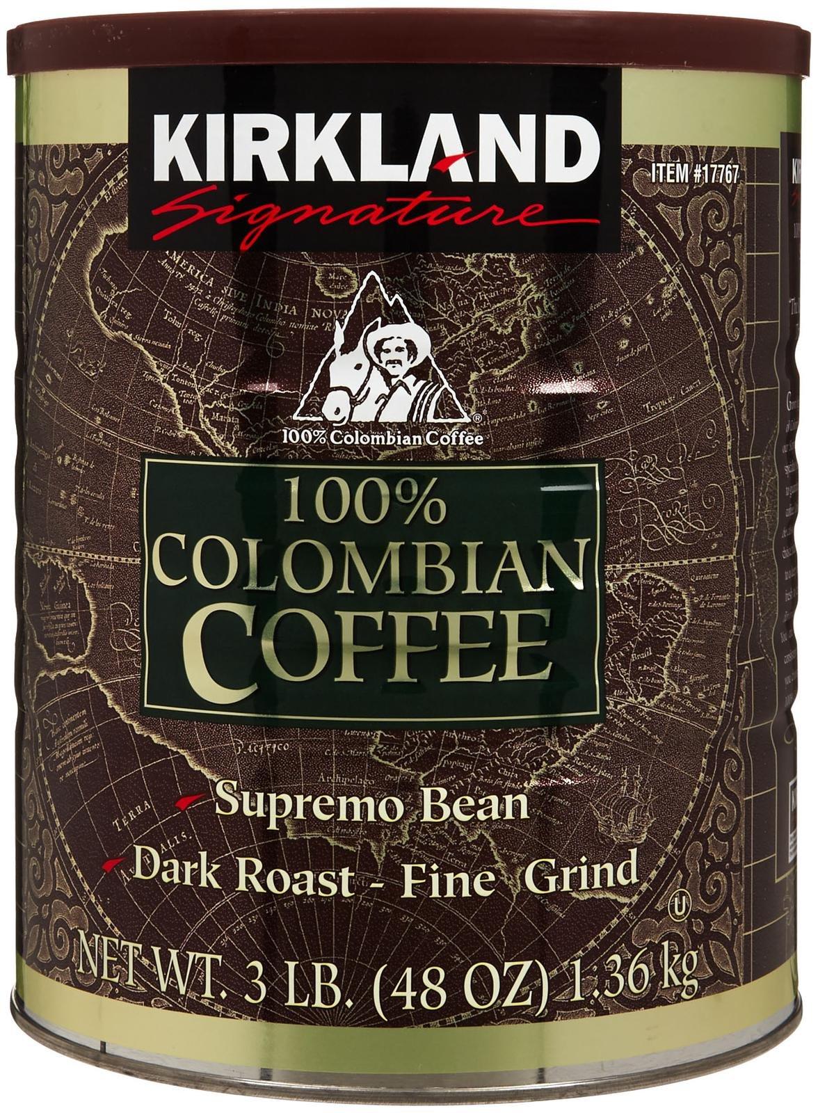 Kirkland Signature Kirkland 100% Colombian Coffee