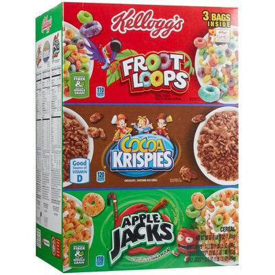 Kellogg's Tri Fun Pk Cereal Asst