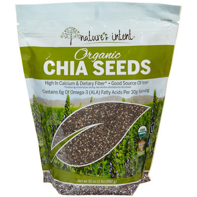 Nature's Intent Organic Chia Seed - 1 ct.