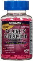 Kirkland Signature Allergy Medicine, Antihistamine Allergy Relief, 600 Minitabs