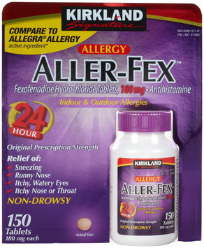 Kirkland Signature Aller-fex 180mg Tablets