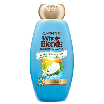 Garnier Whole Blends Coconut Water & Vanilla Milk Extracts Hydrating Shampoo