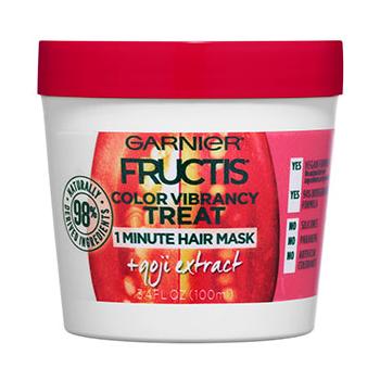 Garnier Fructis Color Vibrancy Treat 1 Minute Hair Mask + Goji Extract
