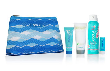 COOLA 4 Piece Organic Sport Suncare Travel Set