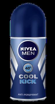 NIVEA Cool Kick Roll On Antiperspirant