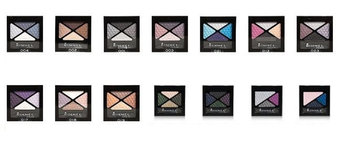 Rimmel London Glam'Eyes Quad Eye Shadow