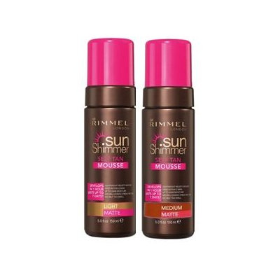 Rimmel London Sunshimmer Self Tan Mousse