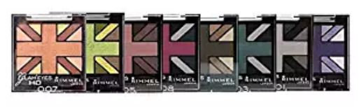 Rimmel London Glam' Eyes HD Quad Eye Shadow Palette