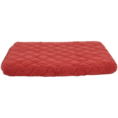 Carolina Pet Company Carolina Pet Protector Pad Quilted Orthopedic Jamison Pet Bed - Red