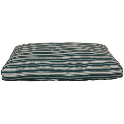 Everest Pet Carolina Pet Company Medium Indoor/Outdoor Striped Jamison Bed - Green 1539