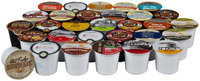 Crazy Cups DELUXE Variety Pack, Flavored Coffee, 30 ct