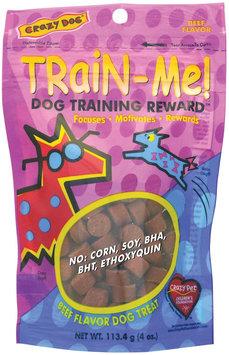 Crazy Dog Train-Me Treats - Beef