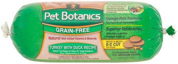 Pet Botanics Dog Food Roll - Grain Free Turkey & Duck