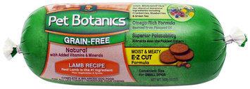 Pet Botanics Dog Food Roll - Grain Free Lamb