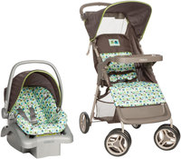 Dorel Juvenile Cosco Lift and Stroll Travel System in Elephant Squares
