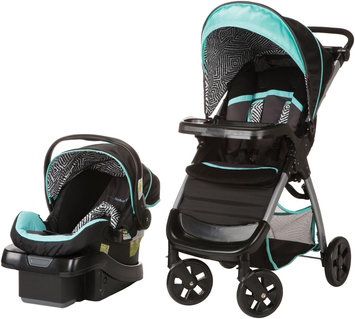 Dorel Juvenile Safety 1st Amble Luxe with onBoard 35 Car Seat Travel System in Black Ice