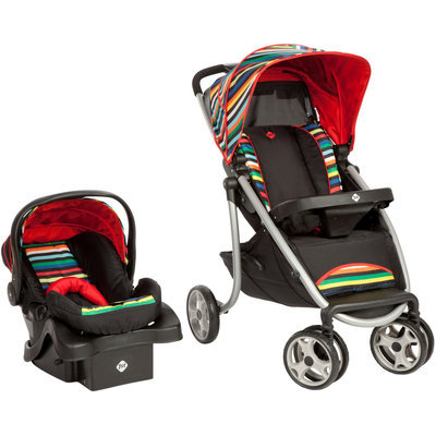 Safety 1st SleekRide Travel System - London Stripe - 1 ct.