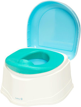 Safety 1st Clean Comfort 3-in1 Potty Trainer - Blue - 1 ct.