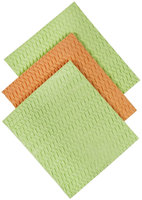 Casabella Sponge Cloths, Blue/Green Assorted